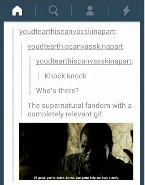 Bilde via We Heart It #funny #post #supernatural #tumblr