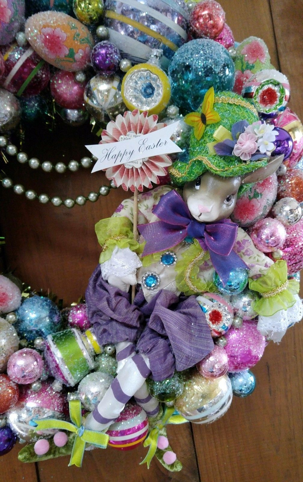 Easter spring image by ks young shiny brite ornaments