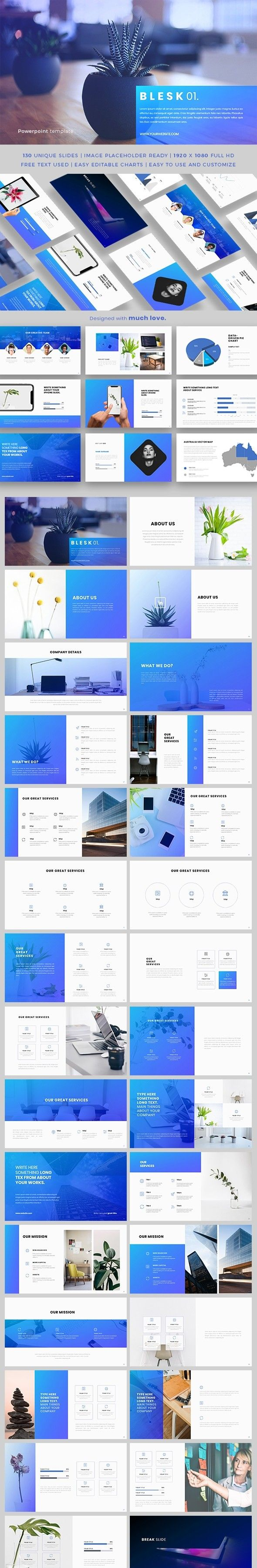Blesk Powerpoint Template Pinterest Powerpoint Themes Cleaning