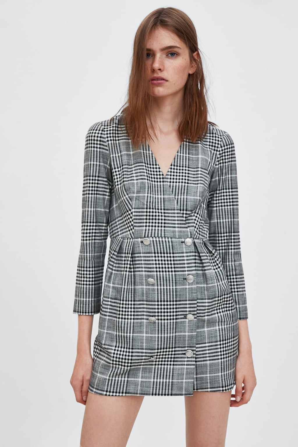 Full check dress | Платья, Стиль