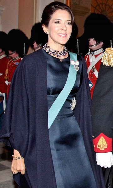 2016--Crown Prince Frederik and Crown Princess Mary at the New Year reception - 2nd Day