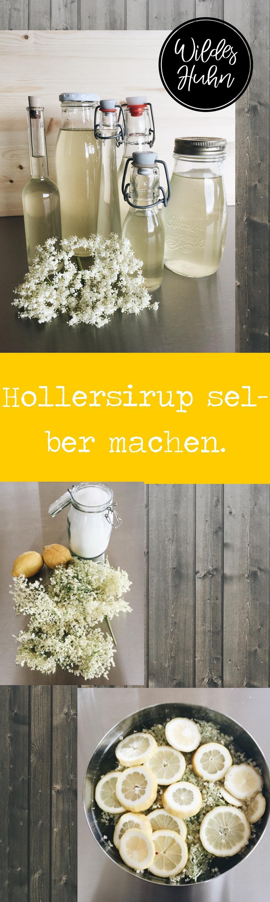 Hollersirup Selber Machen : holler die zweite holundersirup diy ~ Watch28wear.com Haus und Dekorationen