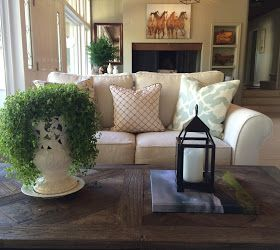 classic • casual • home: Ranch House Living Room Before and After