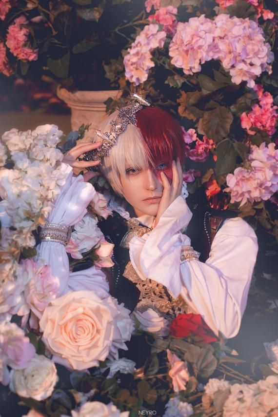 Photo of Prince Todoroki BNHA cosplay print