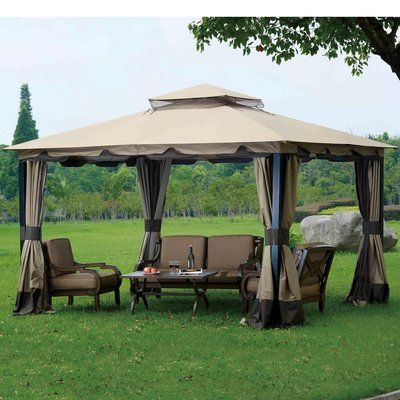Sunjoy Replacement Canopy For 10 W X 12 D Monterey Gazebo Gazebo Canopy Gazebo Replacement Canopy Gazebo