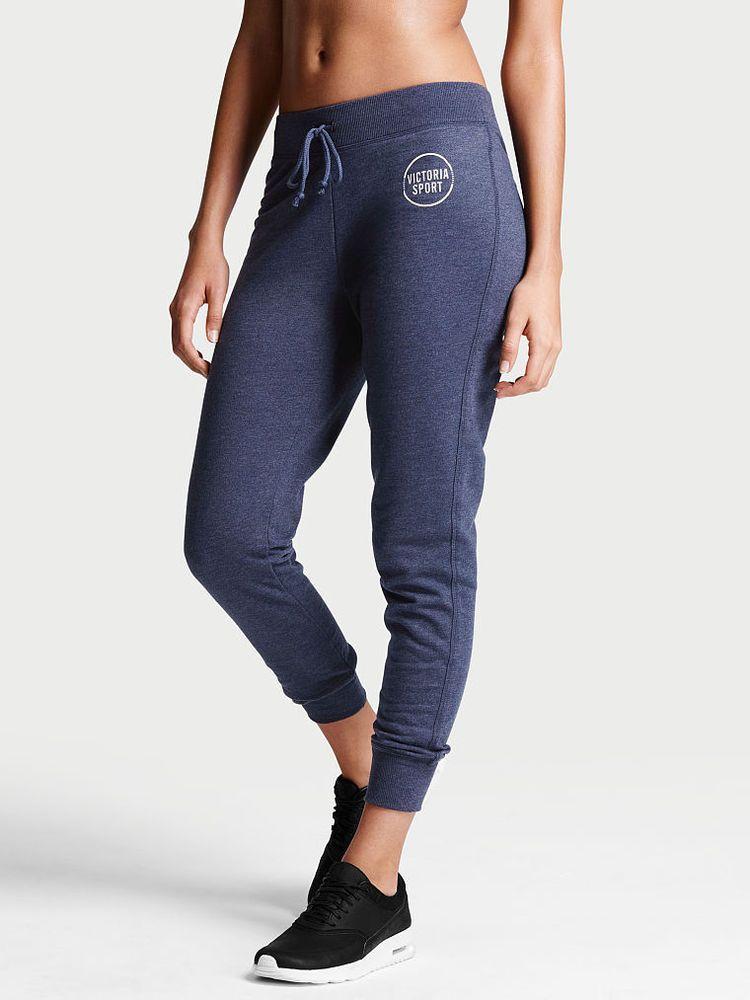 f83ad92d399c7 Details about Victoria Secret Sport Drawstring Jogger Pant Fleece ...