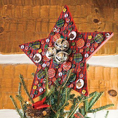 Christmas Decorating Ideas Tartan Tree Topper - 101 fresh christmas - southern living christmas decorations