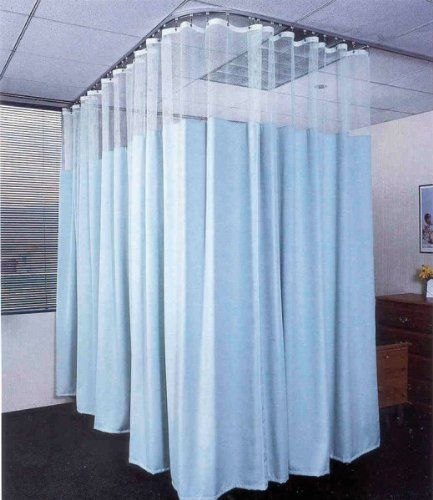 Medline Easy Care Cubicle Curtains Buff Easy Care 102 W X 90 H Including 20 White Mesh By Medline 171 93 Curtains Curtain Designs Hospital Curtains