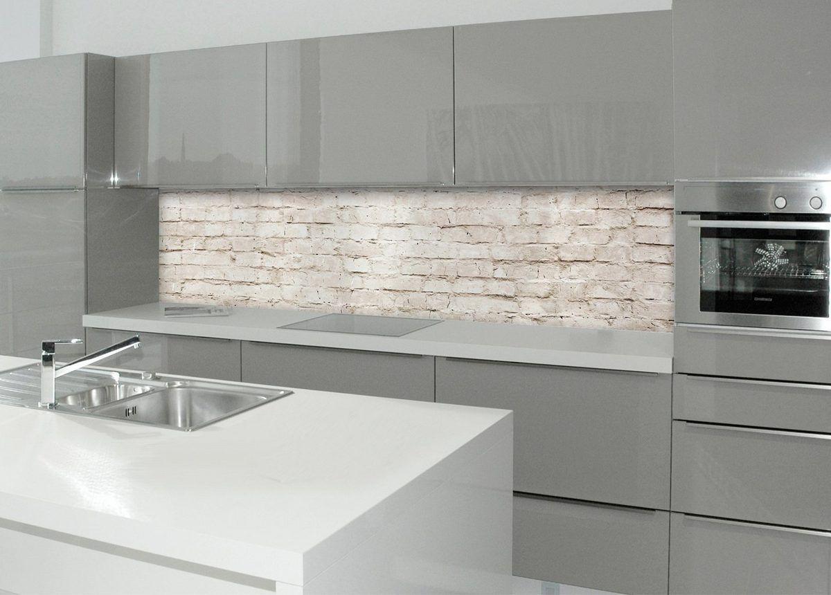 Küchenrückwand - Spritzschutz »profix«, Mauerwerk, 220x60 cm ...