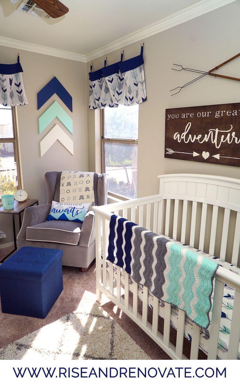 Luxury Baby Boy Rooms: Adventure Nursery Sneak Peek