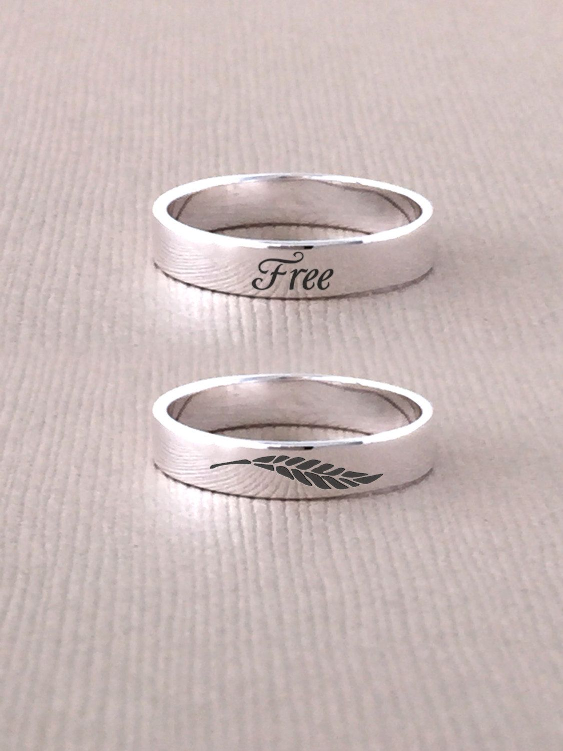 sterling introducing personalised secret silver in stamped rings message bands dsc hand