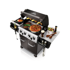 Broil King Regal 490 Pro Grill Propane Gas Grill Natural Gas Bbq Grill Natural Gas Bbq