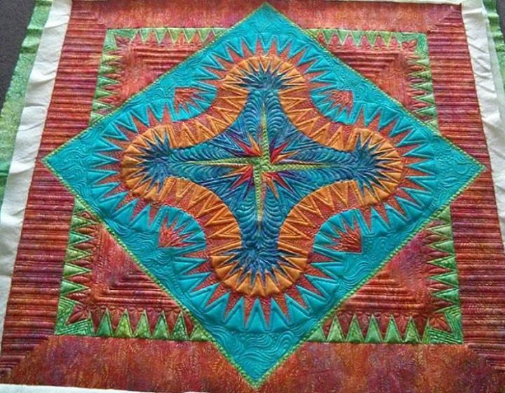 Golden Harvest, Quiltworx.com, Quilted by Amy