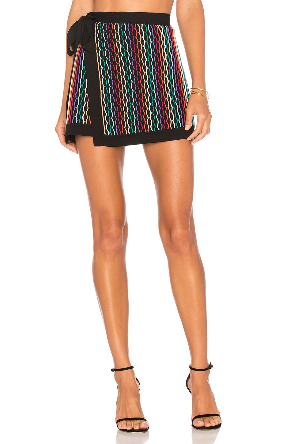 a07cad48a4 NBD Benton Skirt in Rainbow | REVOLVE | COLD weather wear | Skirts ...
