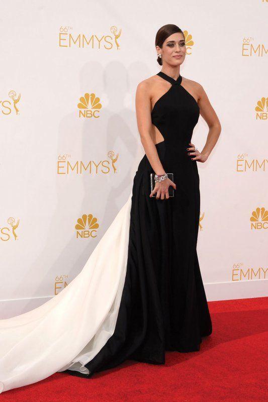 Top 25 Designer Looks of the Year: Lizzy Caplan wearing Donna Karan Atelier