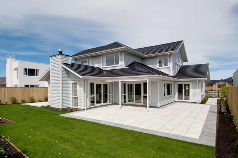 House · Modern Weatherboard ...