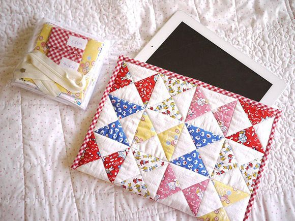 Tutorial for do it yourself quilting kit for ipad case costura tutorial for do it yourself quilting kit for ipad case solutioingenieria Images