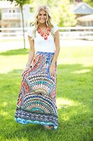 A Beautiful Masterpiece Maxi Skirt
