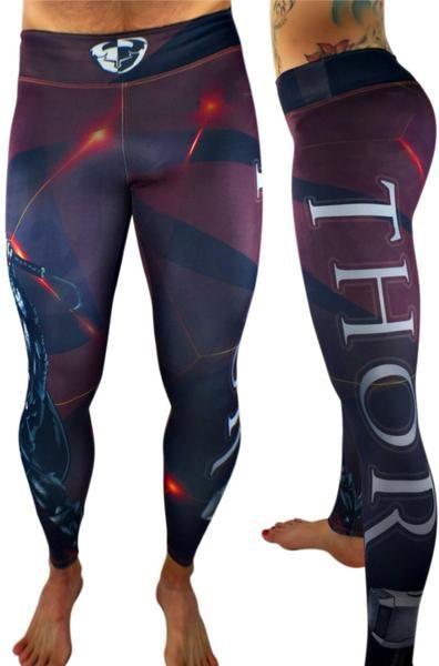 1da5b2a5bcfb9 S2 Activewear - UNISEX The Avenger's Thor Leggings $69.99 | Marvel ...
