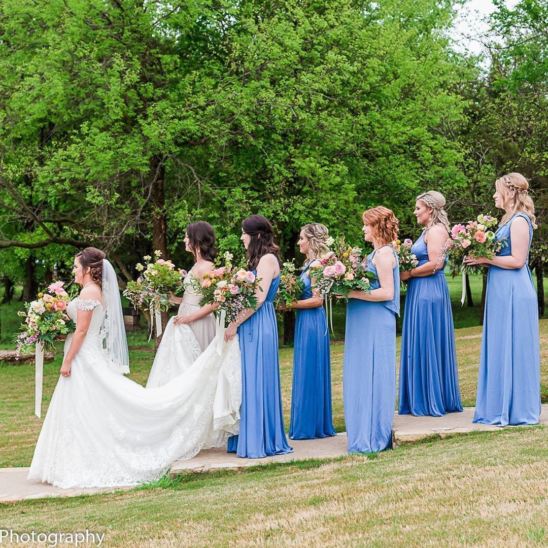 Outdoor Wedding Spots Near Me: Outdoor Spring Wedding At Thistle Springs Ranch Near