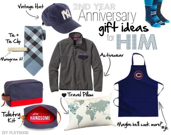 2nd Wedding Anniversary Gift Ideas for Him and Her | Year ...