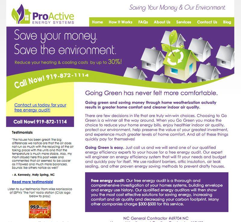 Proactive Portfolio Website Web Design It Works