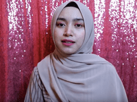 Tutorial Hijab Pashmina Nissa Sabyan Simple Gaya Hijab Gaya