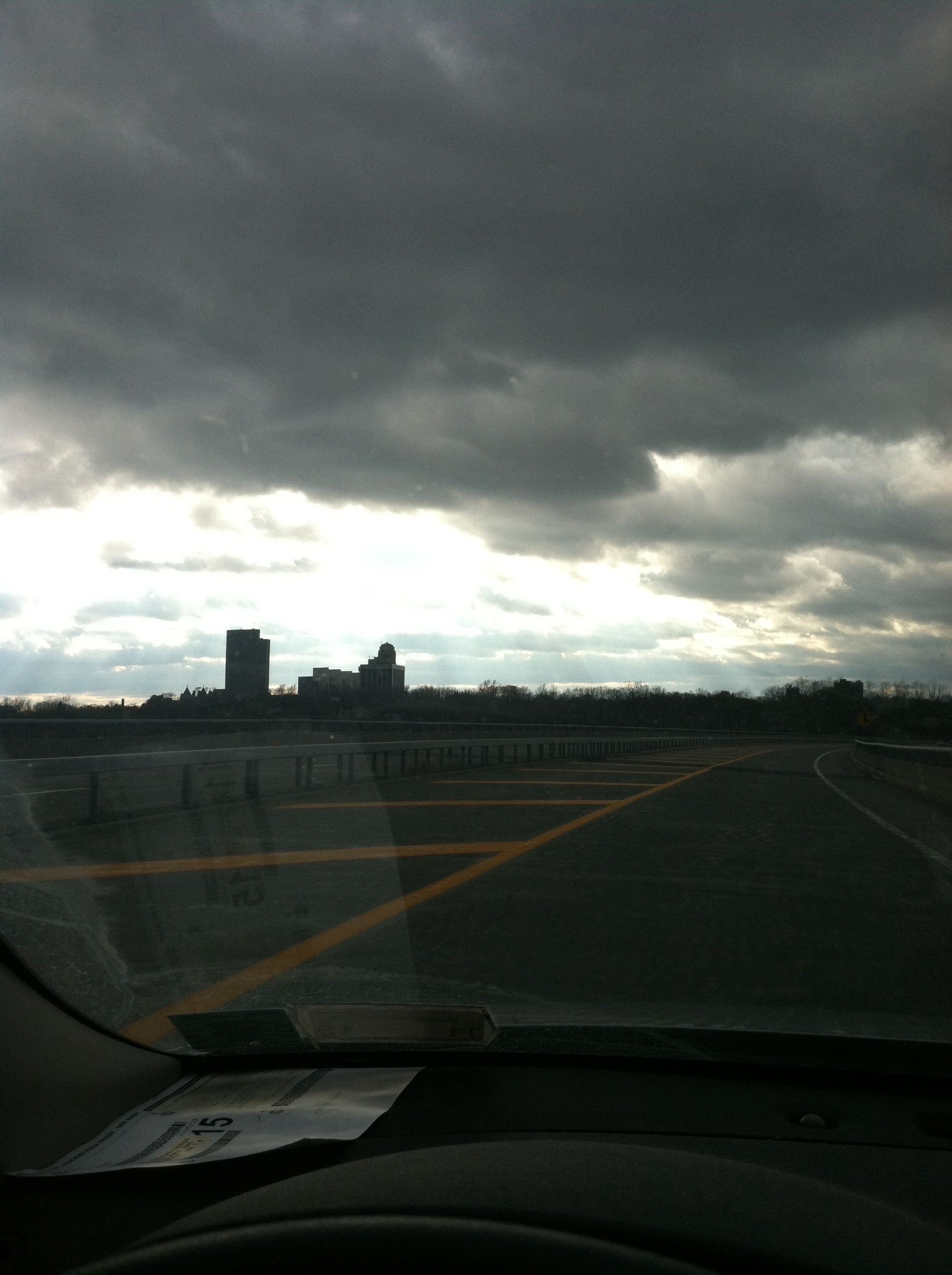 Clouds over Albany NY