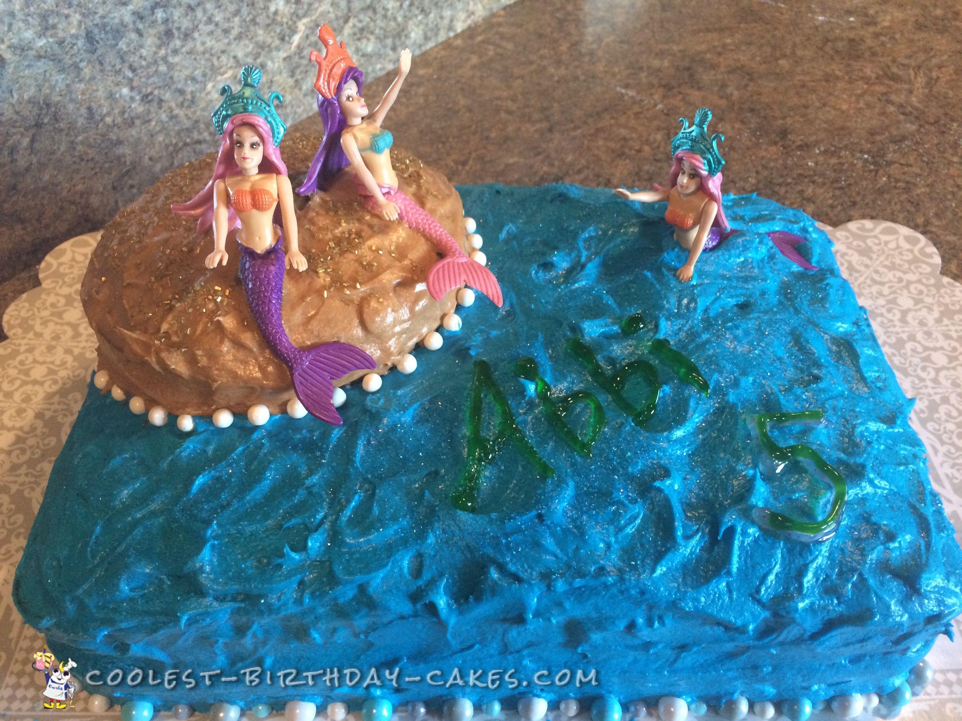 Cool mermaid cake mermaid cakes cool birthday cakes