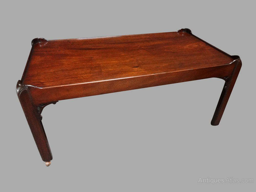 A Very Good Mahogany Tray Top Coffee Table Antiques Atlas