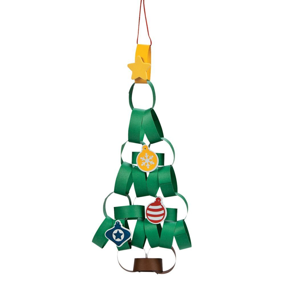 Paper Chain Christmas Tree Craft Kit Less Than Perfect Discontinued Christmas Tree Crafts Christmas Paper Chains Chains Christmas