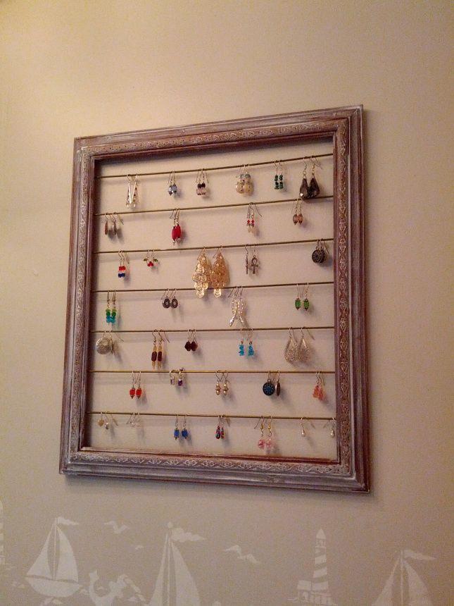 Earring Organization - DIY | Aktivite | Pinterest | Mama und ...