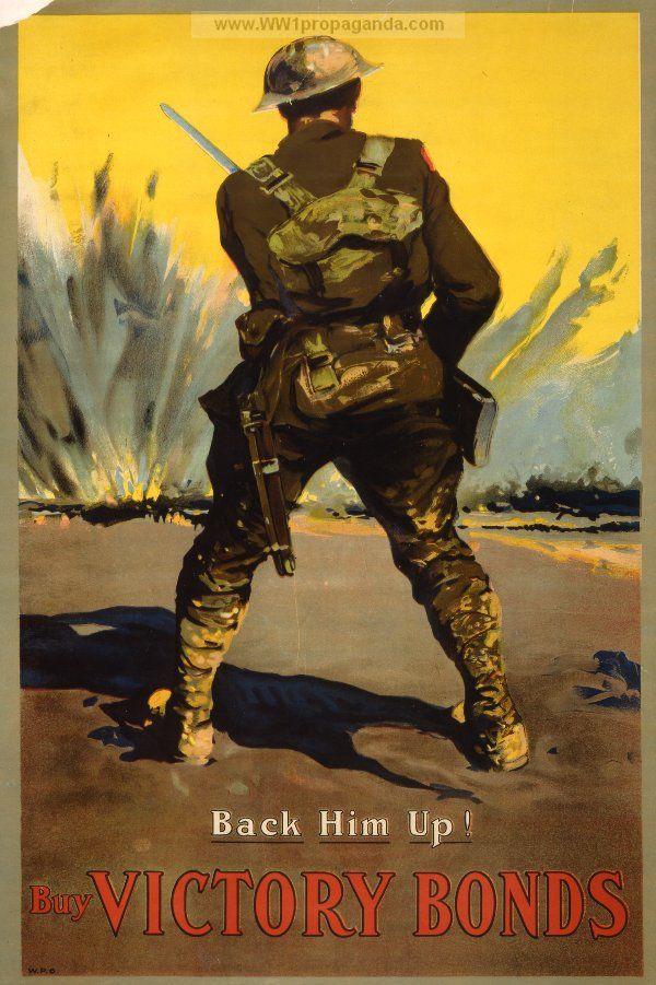 Examples of Propaganda from WW1 | WW1 War Bond Posters ...
