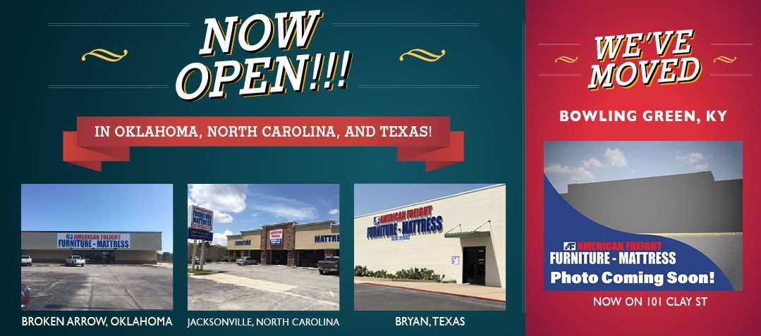 American Freight Grand Opening Stores Discountmattressstores In