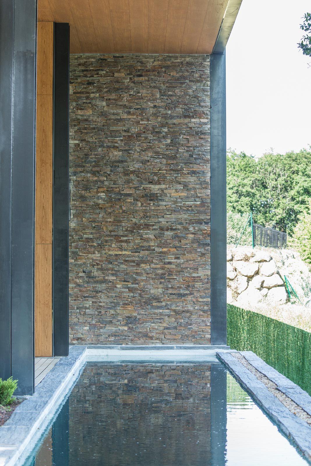 Infercoa se utiliz para los bordes exteriores de la for Decoracion de exteriores