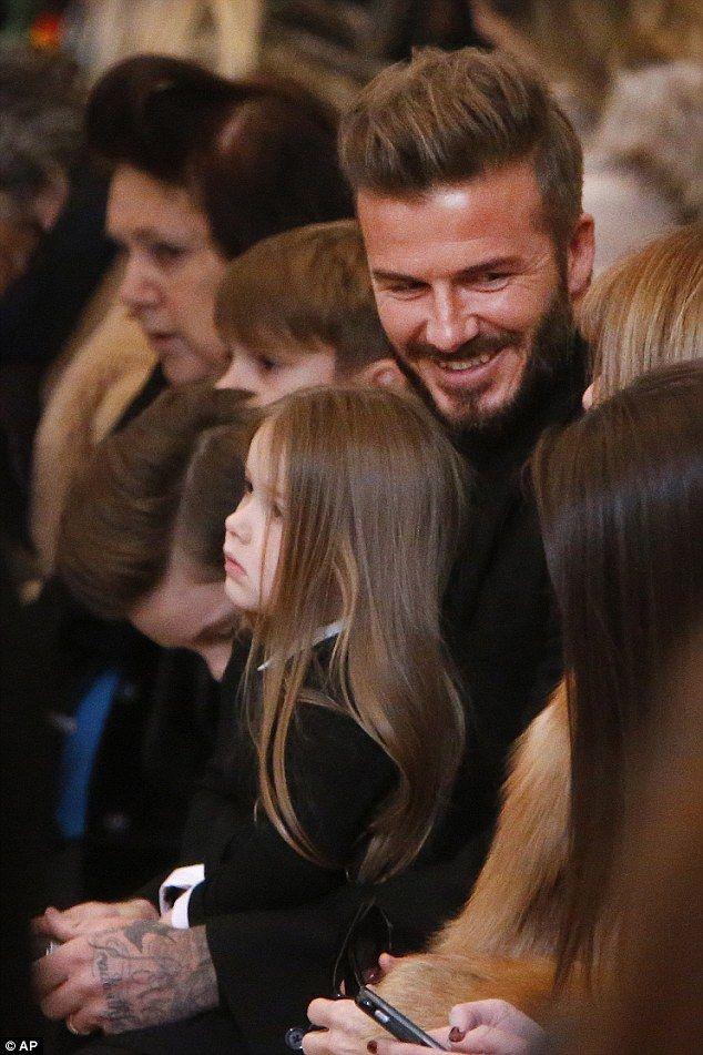 Beckham Daughter 2015