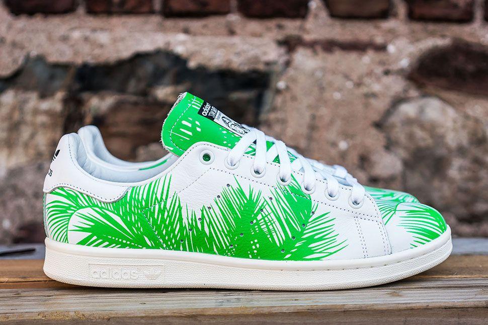53c6ae7c820df Pharrell Williams x adidas Originals Stan Smith BBC Palm Tree Pack - EU  Kicks  Sneaker Magazine