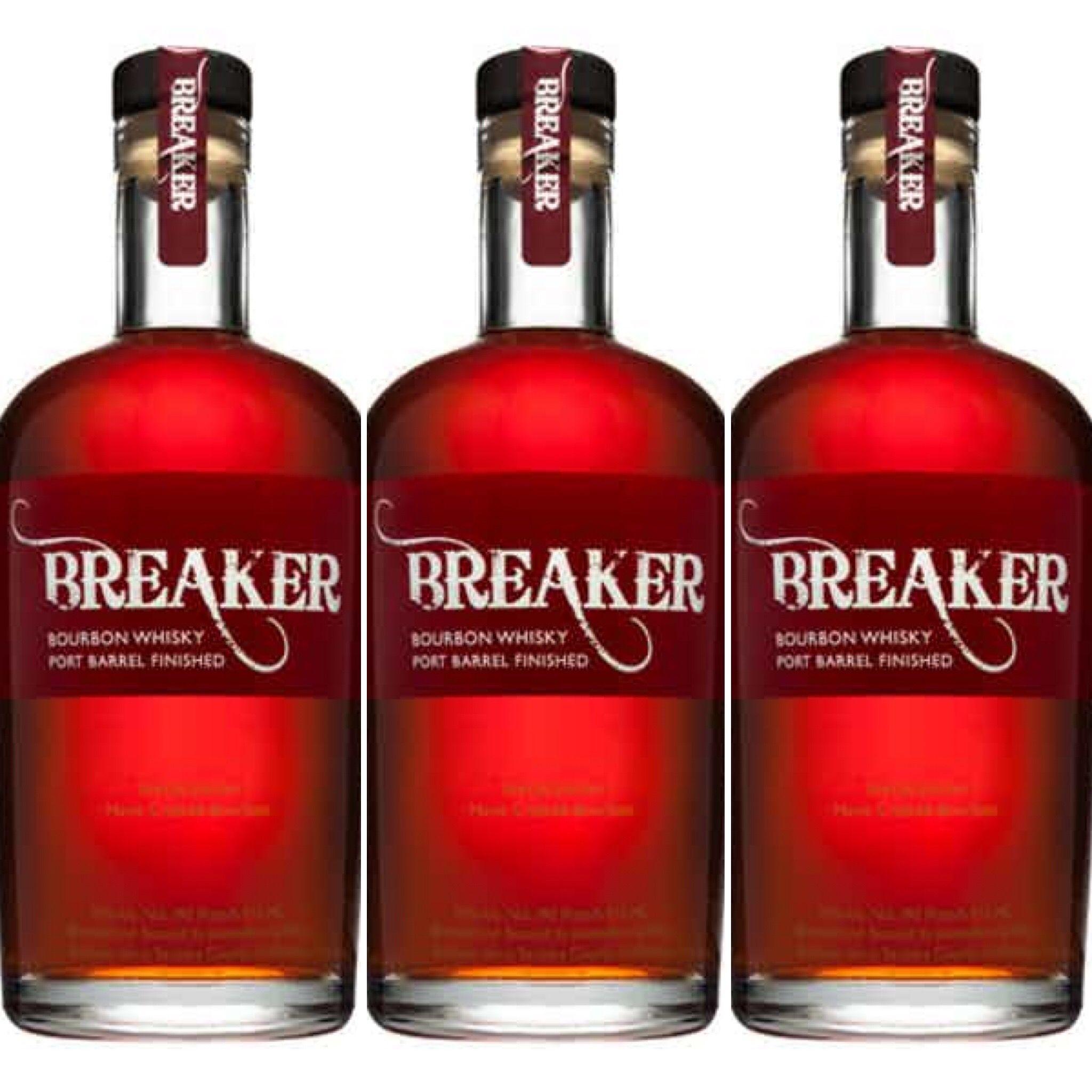 Breaker Bourbon Wine Bottle Alcohol Bottles Bourbon