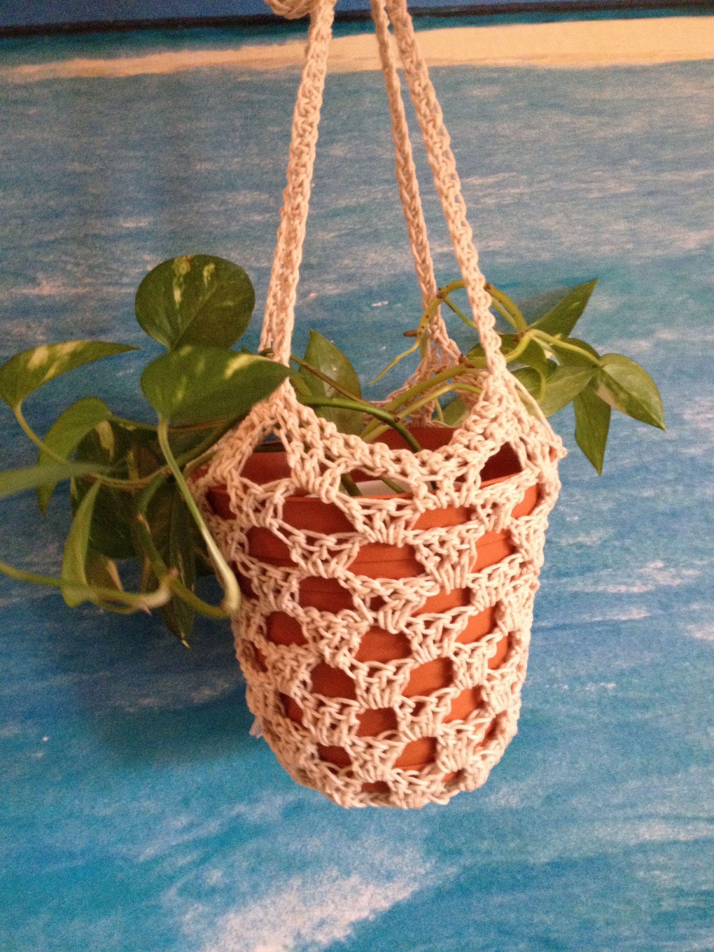 Crochet Plant Hanger Knit Amp Crochet Crochet Plant