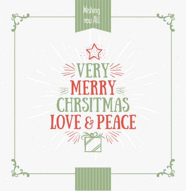 Red And Green Christmas Background Love Peace Merry Mosaic