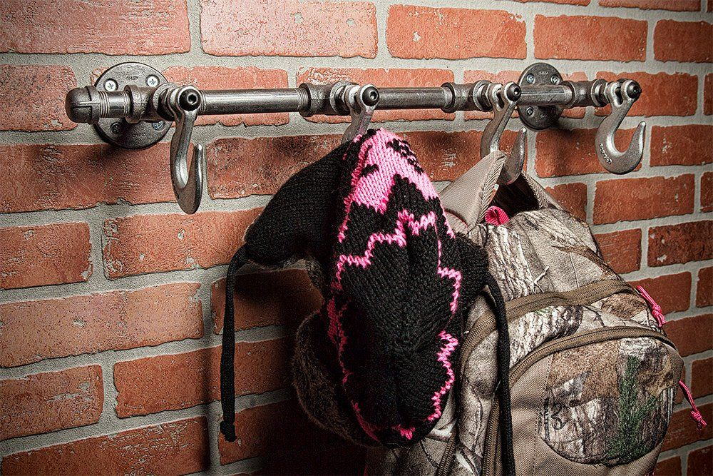 Farmhouse coat rack hat hook coat rack hat rack towel
