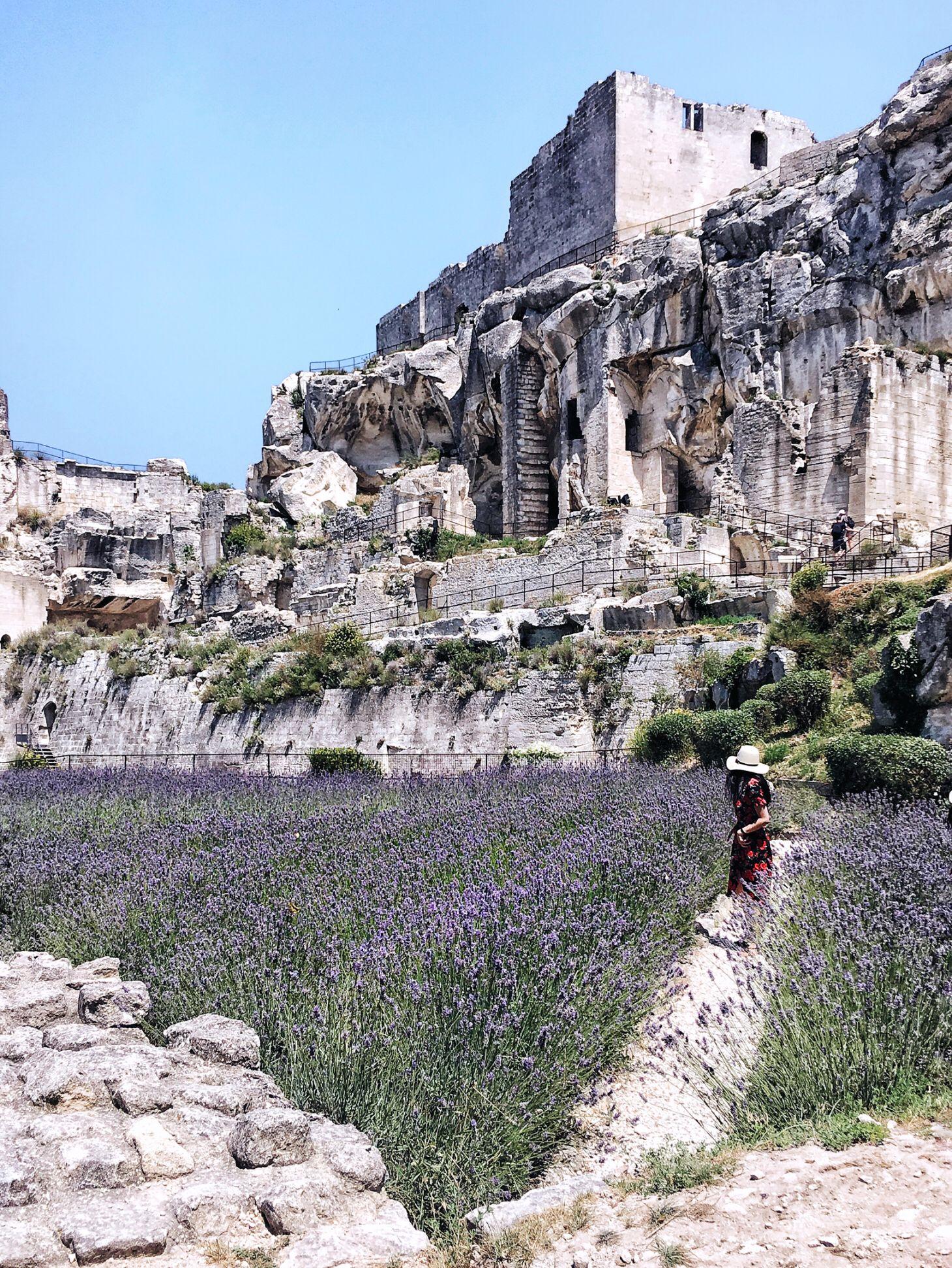 Castle Les Baux De Provence Trip Provence Lavender Fields
