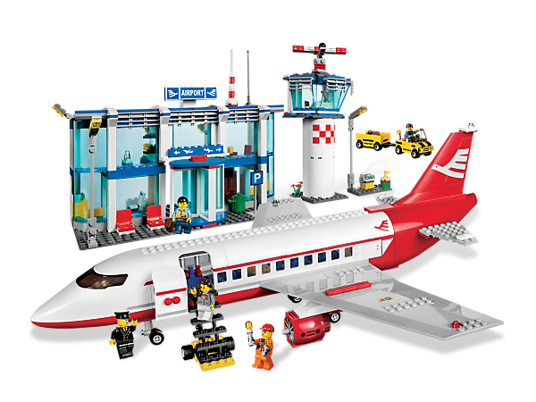 Everyone's on the go at the big LEGO® City Airport! lovely....want ...