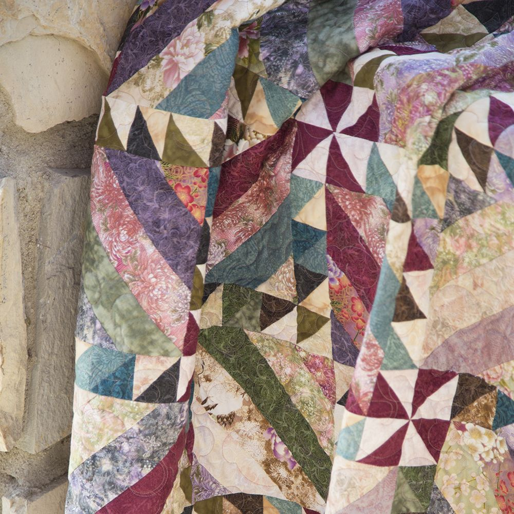 Intertwined by Cozy Quilt Designs featuring Serene Garden April ... : the cozy quilt - Adamdwight.com