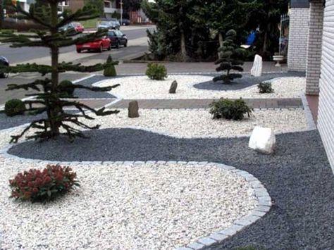 dcorer son jardin avec galets et gravillons voici 20 ides ne pas louper