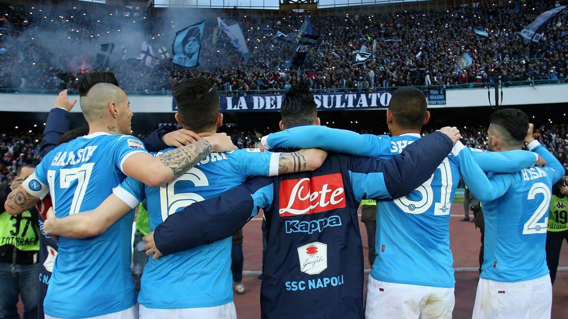 Napoli, che festa sotto la Curva B! Corriere dello Sport