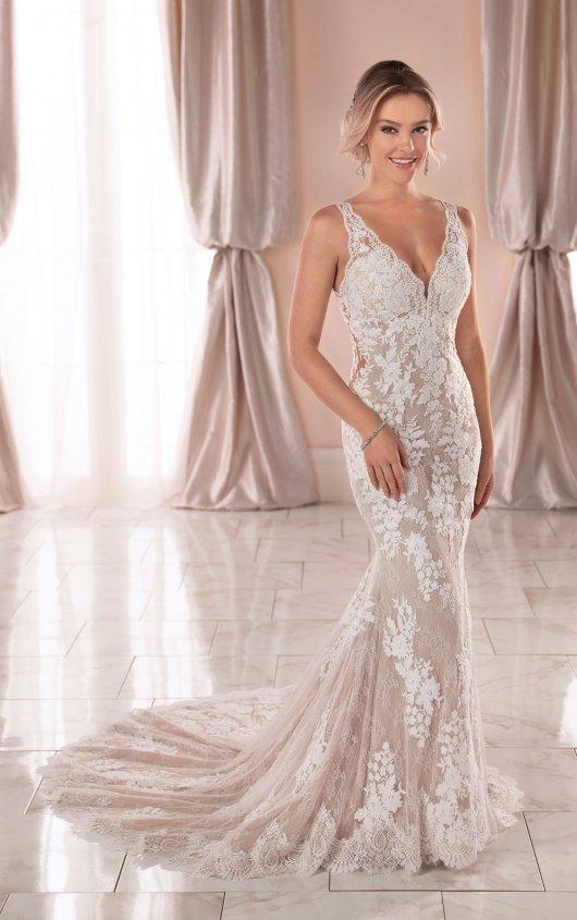 Vintage Wedding Dress With Unique Lace Details Stella York