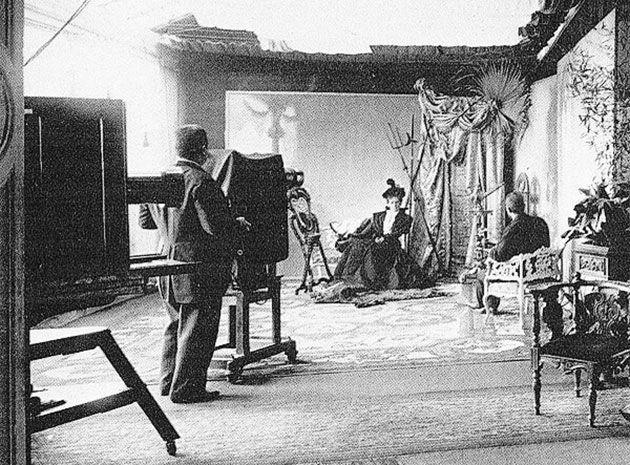 как выглядело фотоателье в начале прошлого века информацией этом