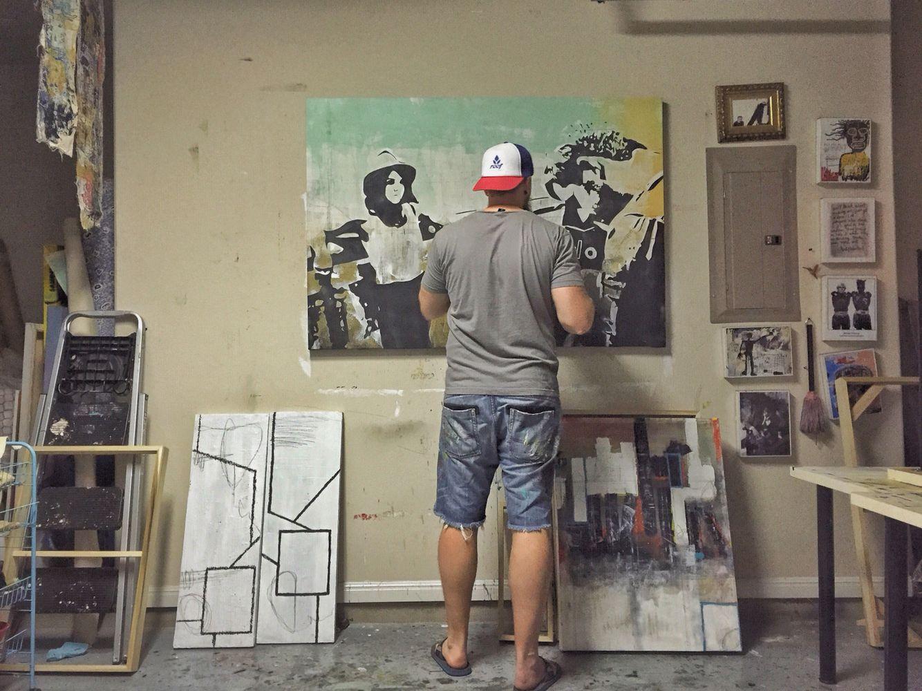 Finishing Up A Commission Piece Art Artstudio