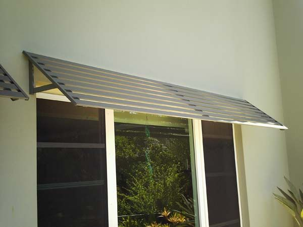 Awnings Colorbond Steel Aluminium Woodgrain Superior Screens Awning Aluminum Window Awnings Window Awnings